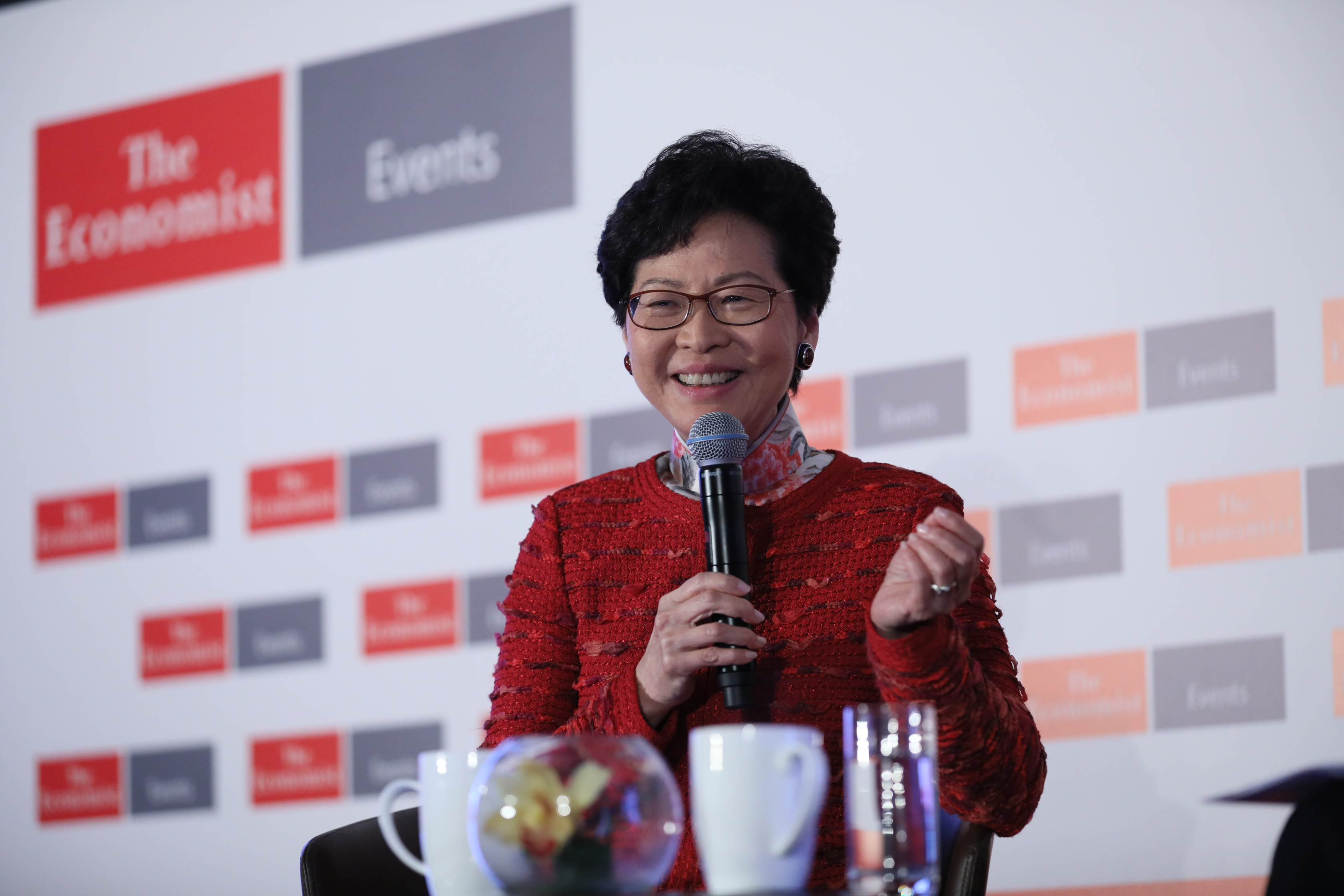 Carrie Lam, chief executive, Hong Kong Special Administrative Region