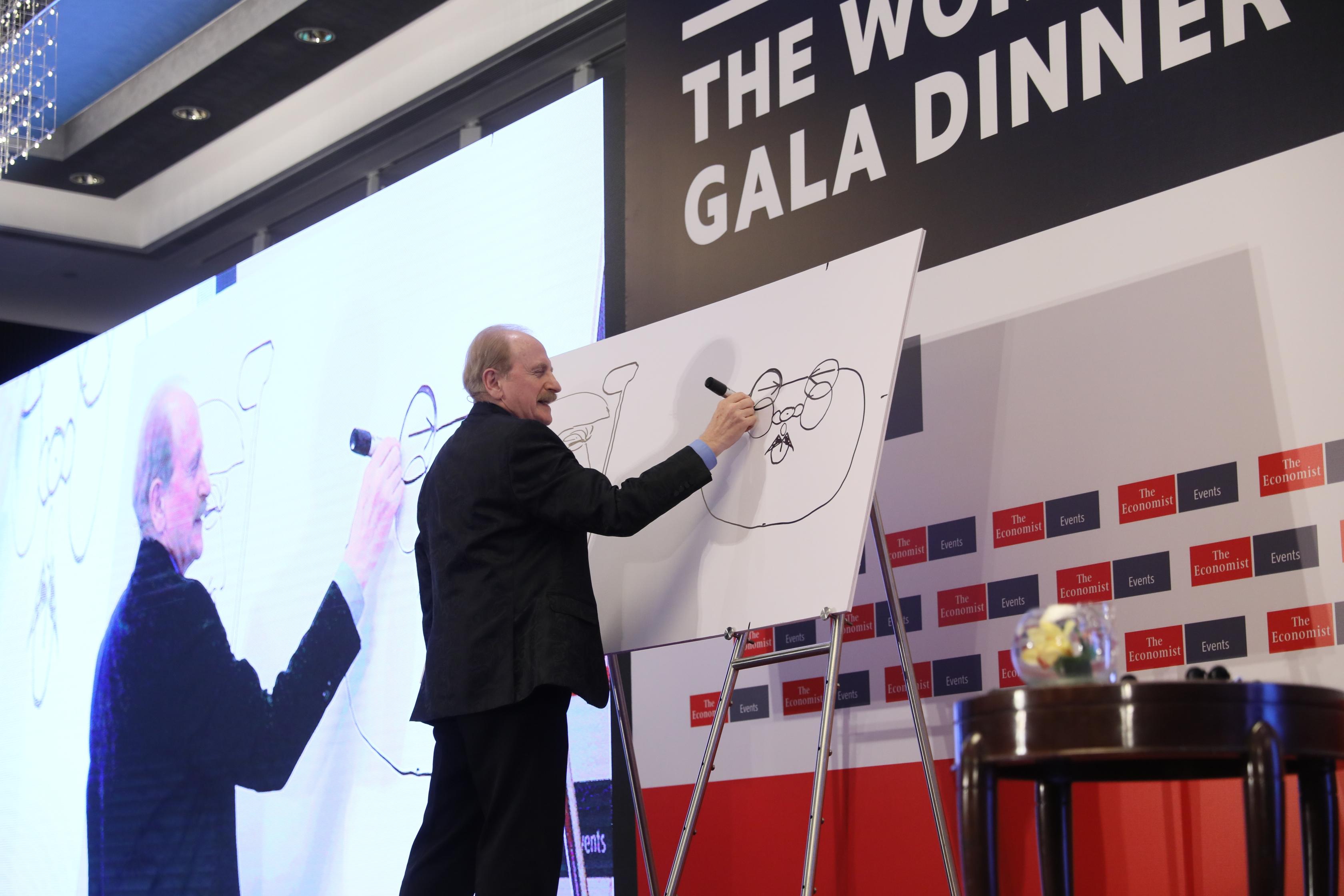 Kevin Kallaugher, editorial cartoonist, The Economist