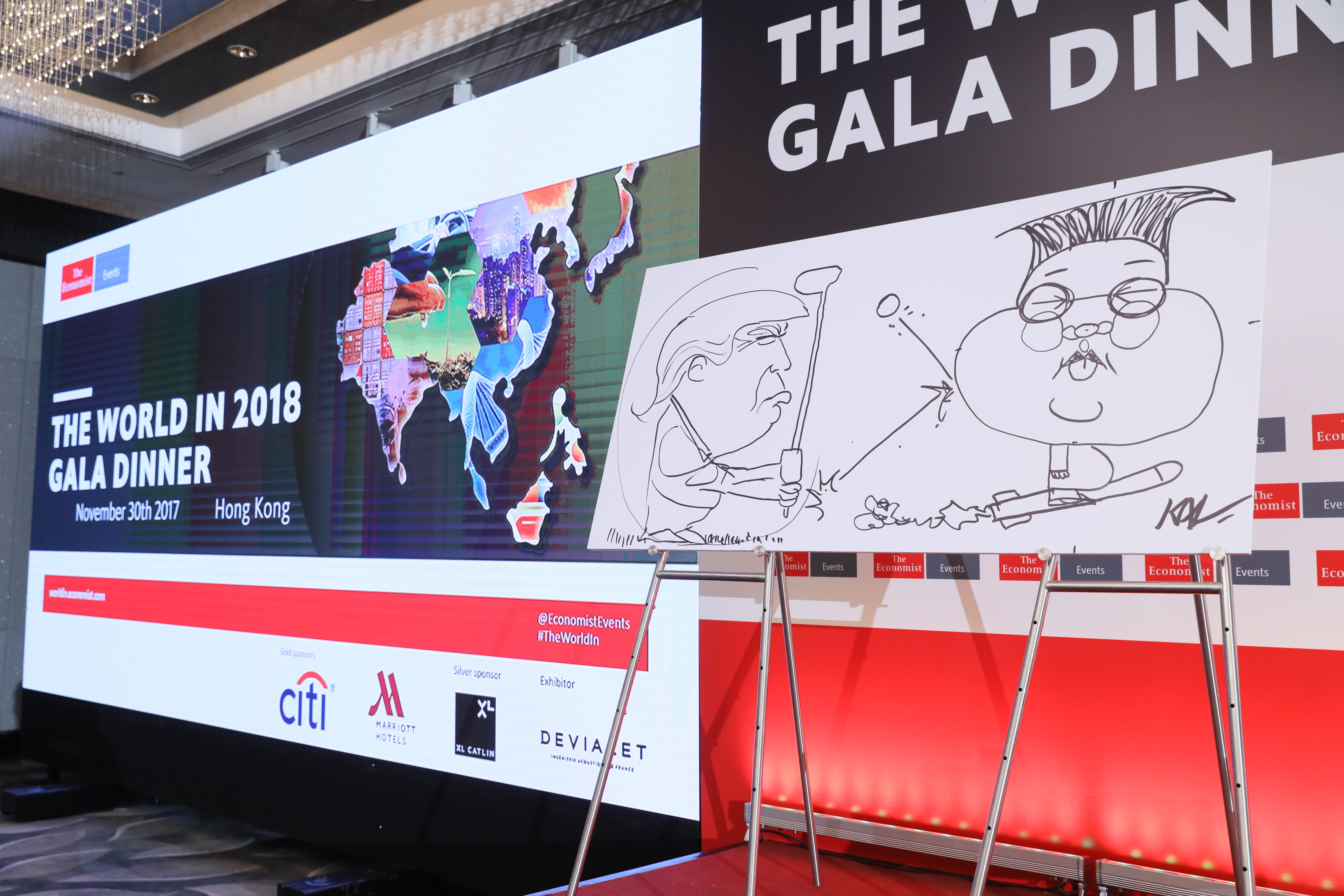 The World in 2019 Gala Dinner | The Economist Events